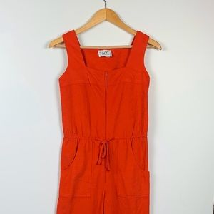 VINTAGE NEUSTETERS orange jumpsuit size 8